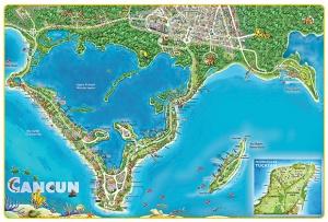 mapa-atractivos-cerca-de-cancun