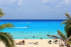 Caribbean sea of Mexico
